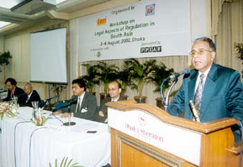 Barrister Aminul Haque Hon'ble Minister for Post and Telecommunication, Government  of People's Republic of Bangladesh